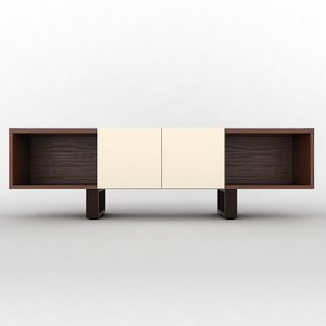 sideboard architecture 3d model