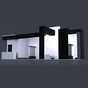 3d exhibition stand 3
