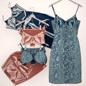 3d set lingerie boutiques model