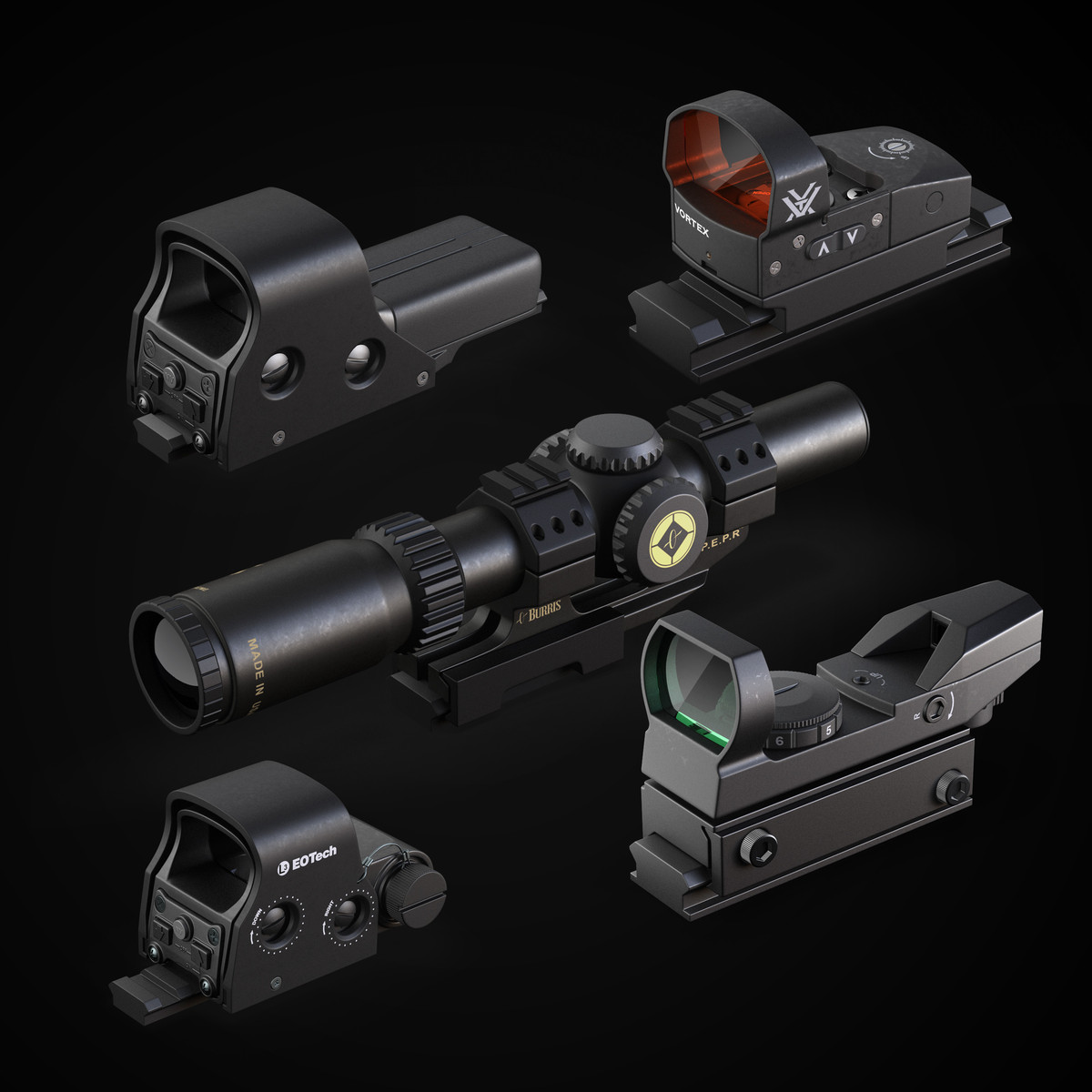 max scope eotech burris