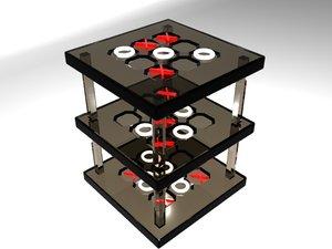 3d tic tac toe model