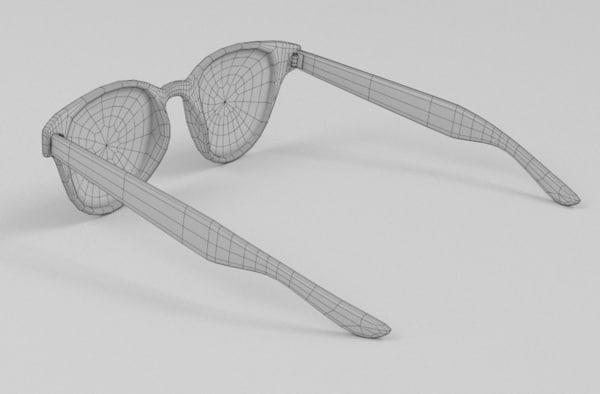 sun glasses 3ds