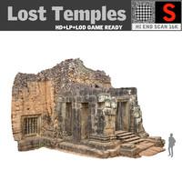 3d model lost temples 16k