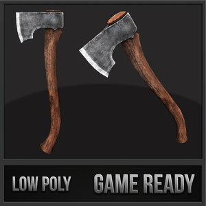 forest axe 3ds