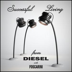 3d model diesel tool tavolo