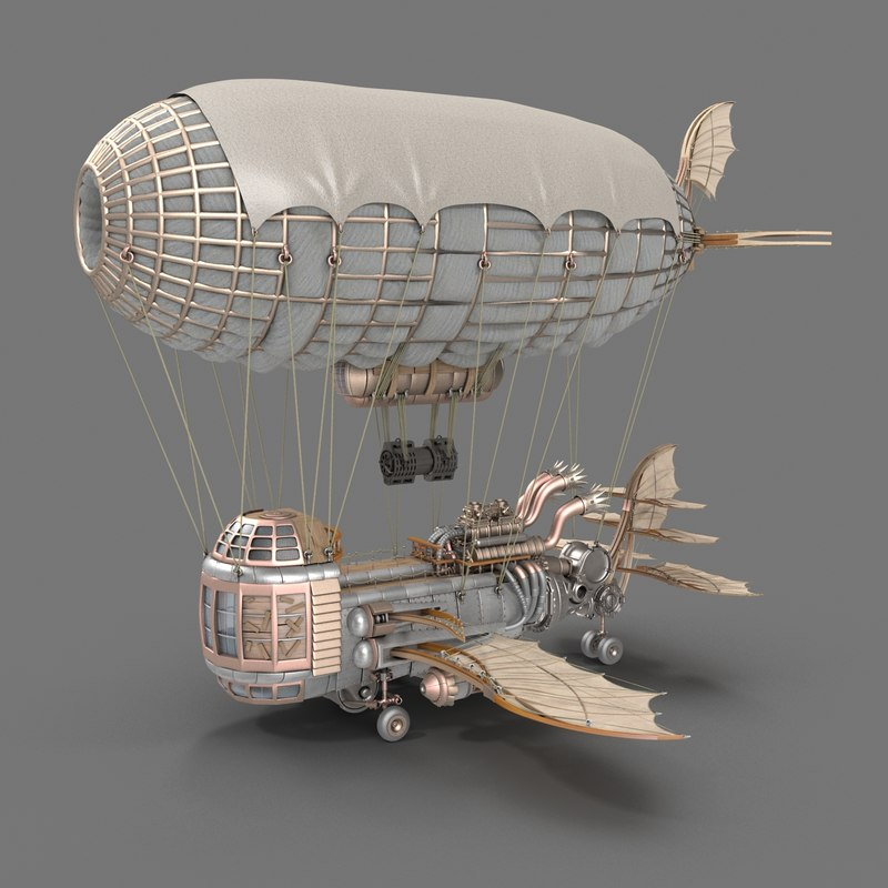 airship air 3d model