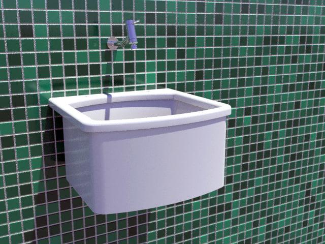 dwg laundry sink tap
