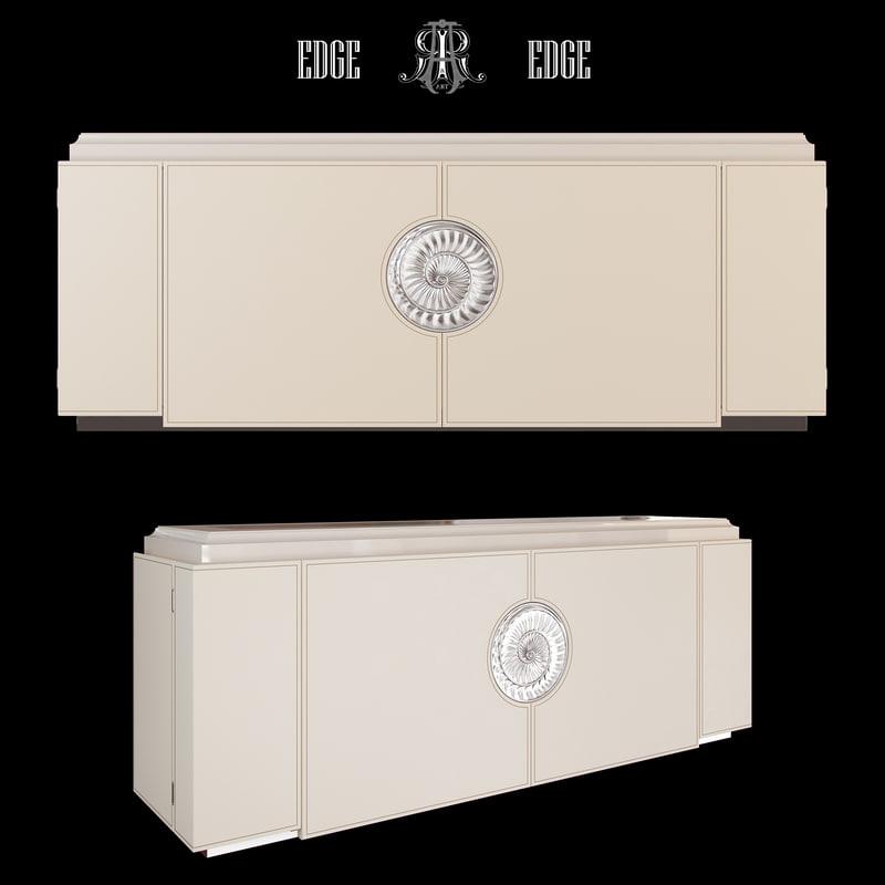 3d chest art edge