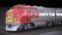Santa Fe Super Chief Train