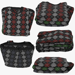 3d model sweater designer
