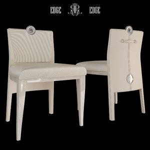 3d short chair art
