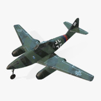 Real-Time Airplane Messerschmitt Me-262