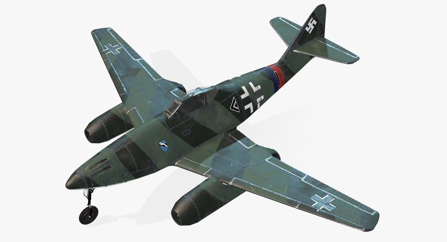 aircraft messerschmitt real-time max