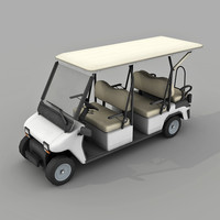 Golf Cart - Low poly