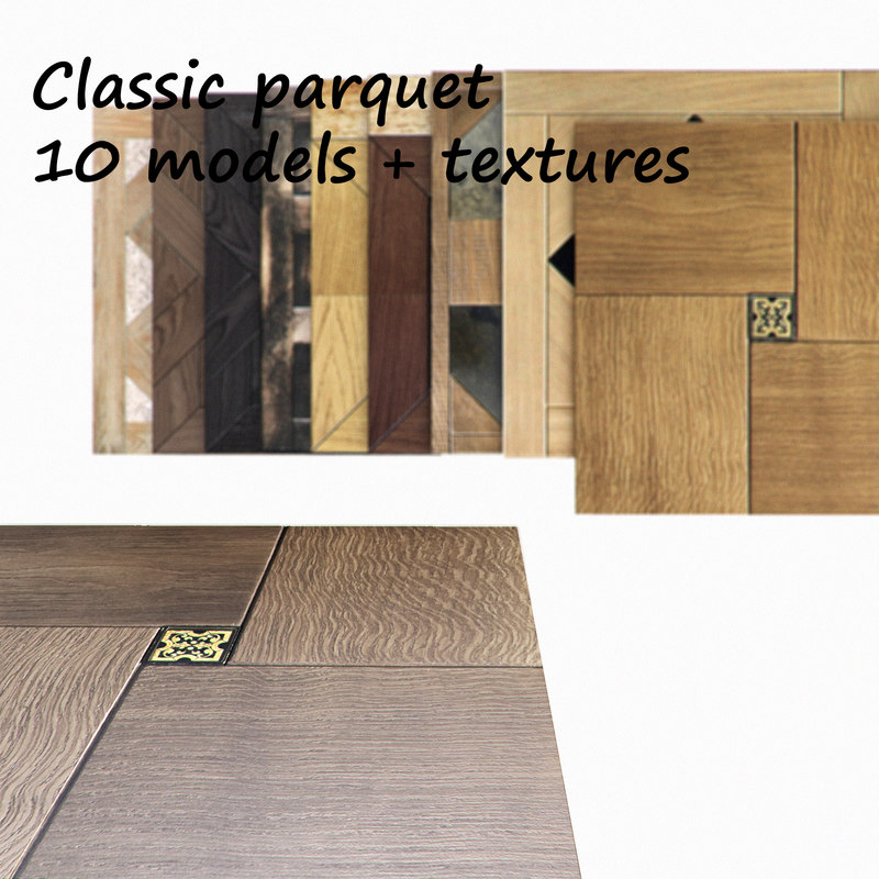 classic modular flooring 3d 3ds