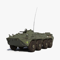 Amphibious Armoured Personnel Carrier BTR-80