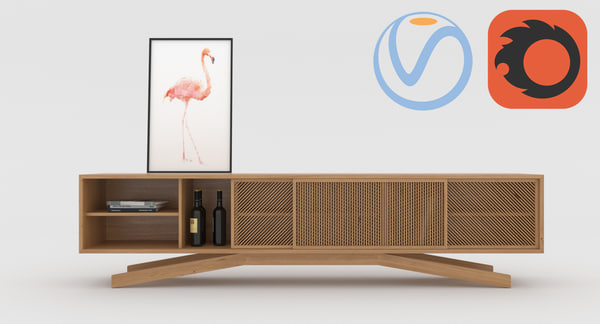 3d table coffeetable model
