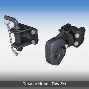 c4d hitch trailer eye