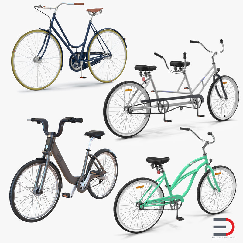 3d bikes 2 bicycle model