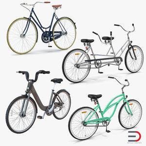3d bikes 2 bicycle model