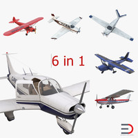 Private Airplanes Rigged Collection 2