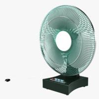 air fan 3d model