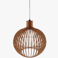 Wood Ceiling Lamp Variant1