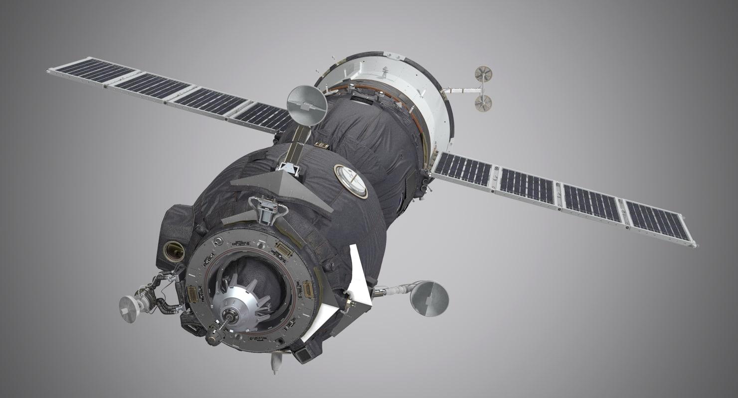 3d model soyuz spacecraft