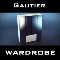 gautier wardrobe 3d 3ds