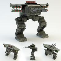 robot war 3d max