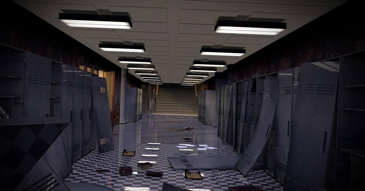 horror school lockers 3ds