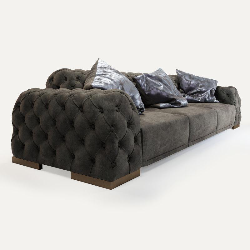 cravt original panca sofa 3d max