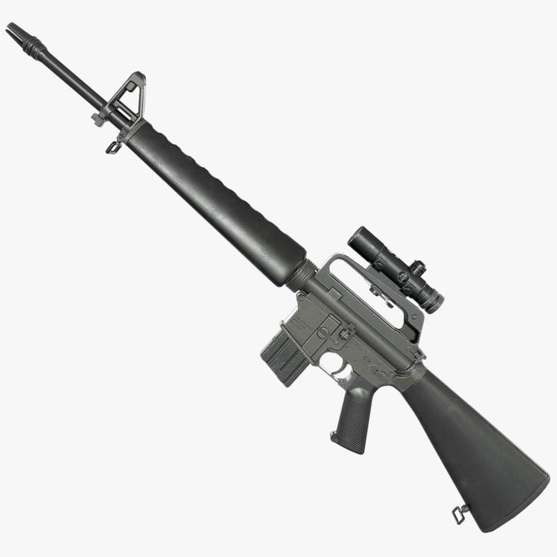 max m16a1 rifle
