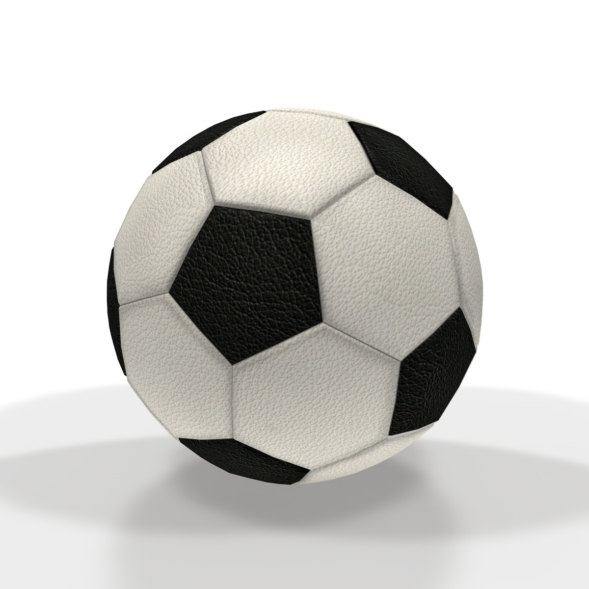3ds classic soccer ball