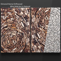 Dimond Home Driftwood Whirl Wall Art in Natural