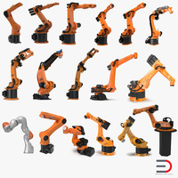 Kuka Robots Rigged Collection 7
