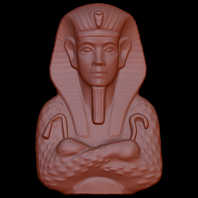 ancient egypt 001 3d model