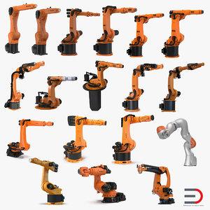 3d model kuka robots 7
