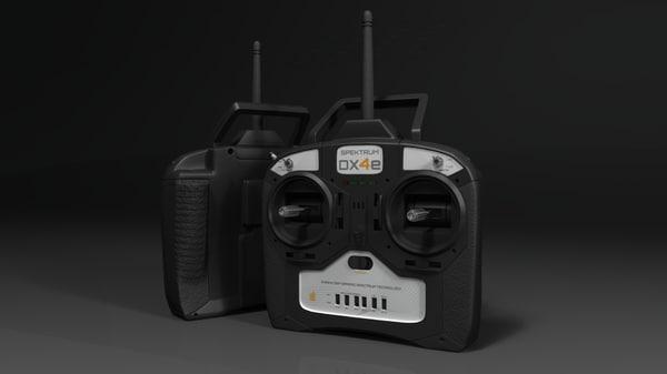 3d model radio controller