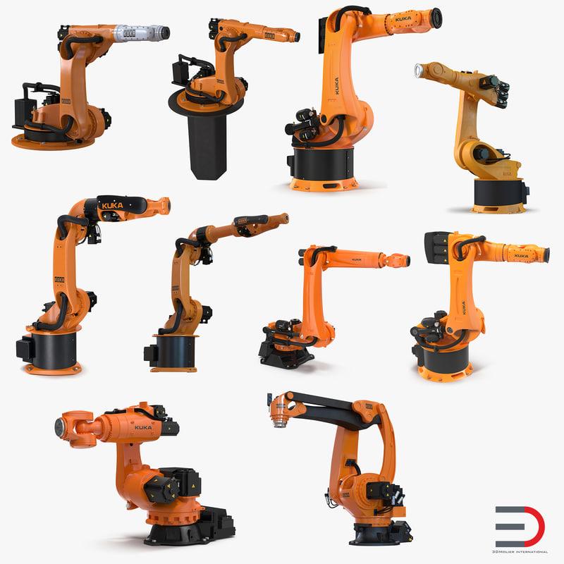 Kuka Robots Collection 6