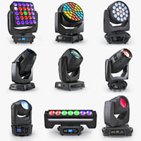 Collection Professional Moving Lights