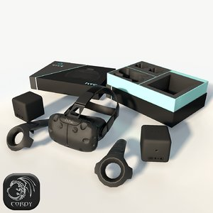3d htc vive model