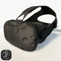 3d htc vive headset model