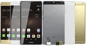 realistic huawei p9 colors 3d max