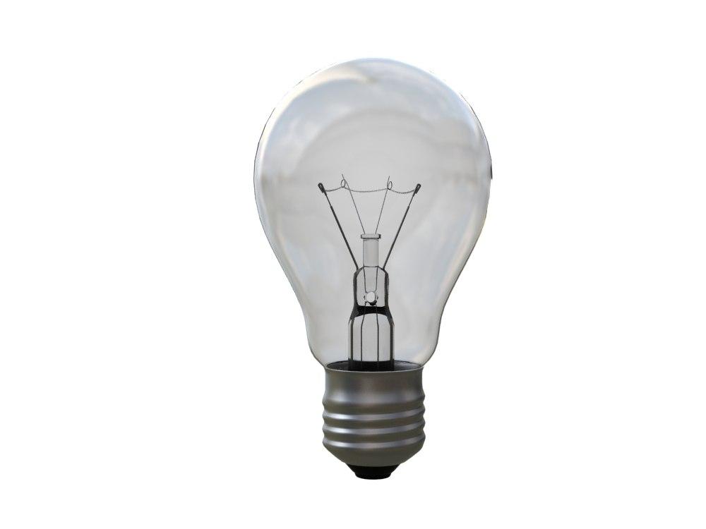 3d max light bulb