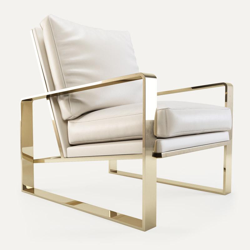 bernhardt dorwin chair 3d obj