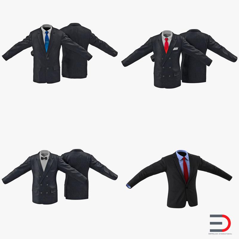 mens suits 3ds