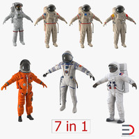 Space Suits Collection 3