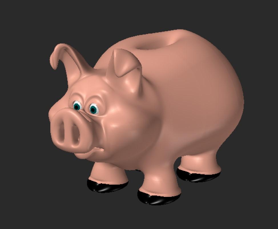 piggy bank pig lwo