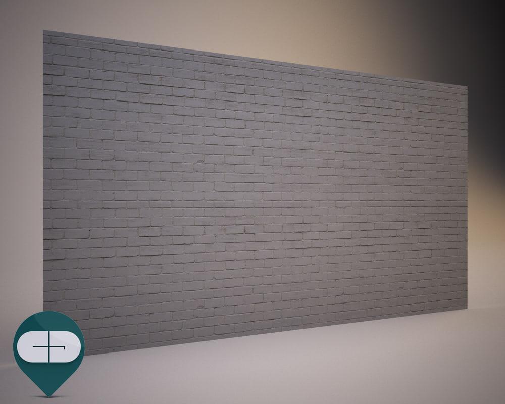 3d materials wall repeatable model